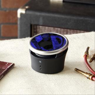 Black Blue Unique Abstract Speaker
