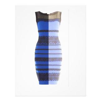 black blue white gold split image dress flyer pic
