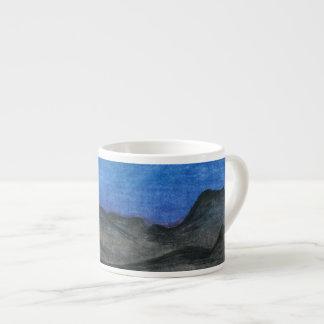 Black Bluffs | Customizable 6 Oz Ceramic Espresso Cup