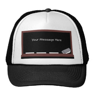 Black Board, Your Message Here hat