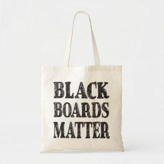 Black Boards Matter Tote Bag