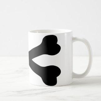 black bones crossed - death mugs
