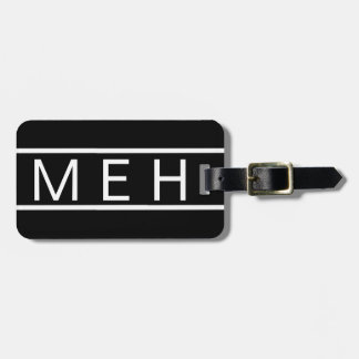 Black Book Monogrammed Travel Bag Tags
