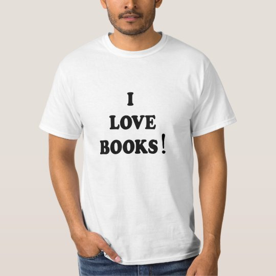 "Black Books ""I Love Books"" T-shirt"