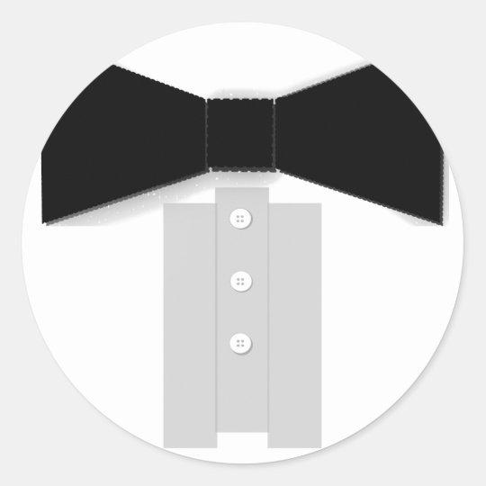Black Bow Tie Stickers
