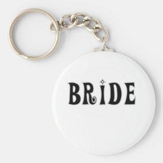 Black Bride Key Chains