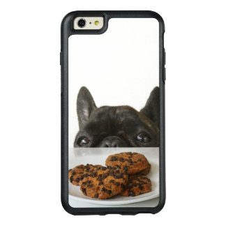 Black Brindle French Bulldog OtterBox iPhone 6/6s Plus Case