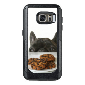 Black Brindle French Bulldog OtterBox Samsung Galaxy S7 Case