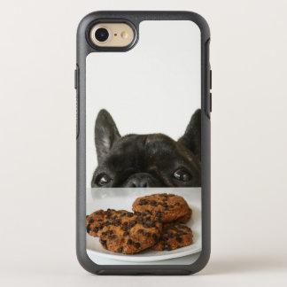 Black Brindle French Bulldog OtterBox Symmetry iPhone 8/7 Case