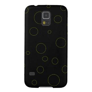 Black Bubbles Urban Modern Galaxy S5 Cover