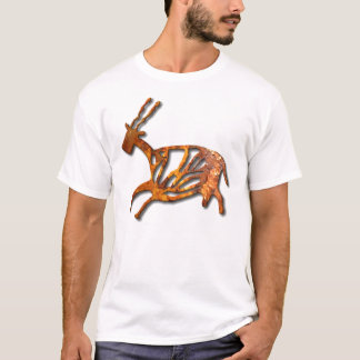 Black Buck - rust T-Shirt