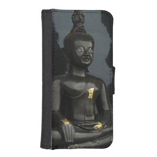 Black Buddha ... Nong Khai, Isaan, Thailand Phone Wallet Case