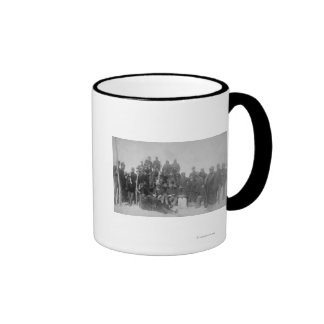 "Black ""Buffalo Soldiers"" of the 25th Infantry Ringer Mug"