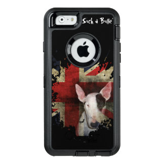 Black Bull Terrier Union Jack OtterBox iPhone 6/6s Case