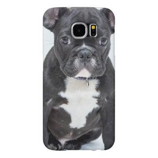 Black Bulldog Samsung Galaxy S6 Cases