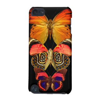 Black Butterfly Butterflies Wings Bug iPod Touch 5G Covers