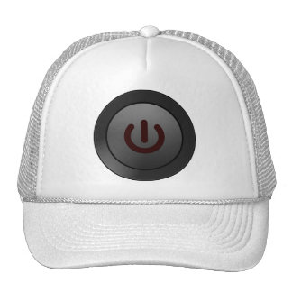 Black Button - On Symbol Hat