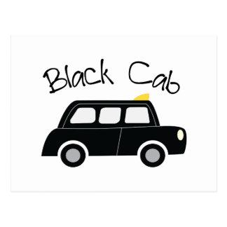 Black Cab Postcard