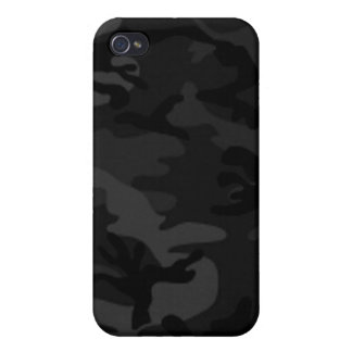 Black Camo iPhone 4 Case