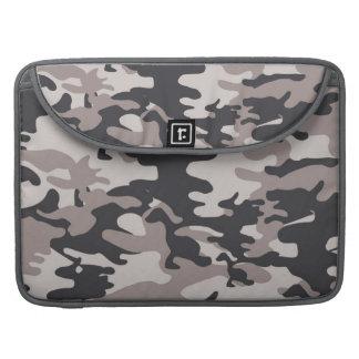 Black Camo Rickshaw Flap Sleeve MacBook Pro Sleeves