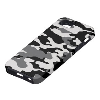 Black Camo Tough iPhone 5 Case