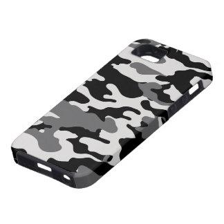 Black Camo Tough iPhone 5 Case