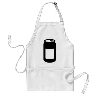 Black can aprons