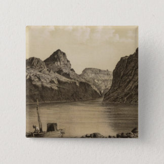Black Canon, Colorado River 15 Cm Square Badge