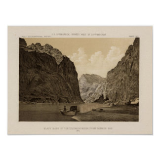 Black Canon, Colorado River 2 Poster