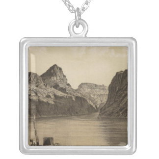 Black Canon, Colorado River Silver Plated Necklace