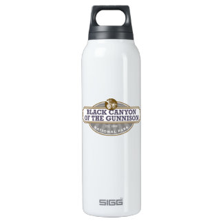 Black Canyon Gunnison National Park Insulated Water Bottle