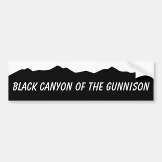 Black Canyon of The Gunnison Bumper Sticker