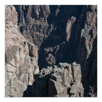 Black Canyon of the Gunnison Cliffs Photo Poster