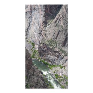 Black Canyon of the Gunnison Customised Photo Card