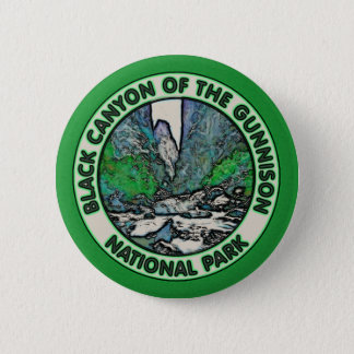 Black Canyon of the Gunnison National Park 6 Cm Round Badge