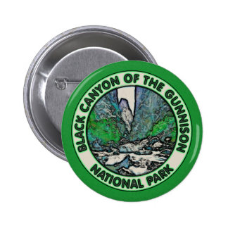 Black Canyon of the Gunnison National Park Pinback Button