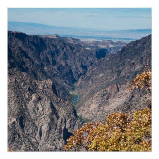 Black Canyon of the Gunnison Perfect Poster