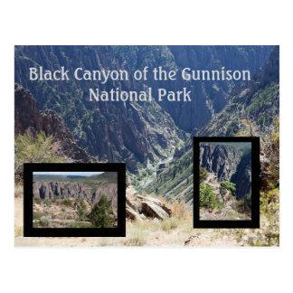 Black Canyon of the Gunnison Travel Postcard