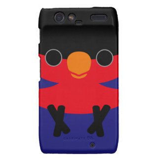 Black-capped Lory Droid RAZR Covers