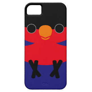 Black-capped Lory Barely There iPhone 5 Case
