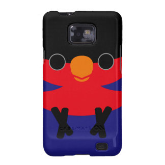 Black-capped Lory Galaxy S2 Cover