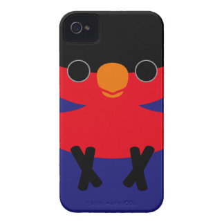 Black-capped Lory iPhone 4 Case-Mate Cases