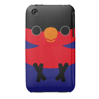 Black-capped Lory iPhone 3 Cover