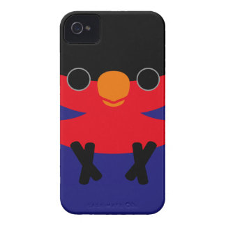 Black-capped Lory Case-Mate Blackberry Case