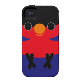 Black-capped Lory Vibe iPhone 4 Cases