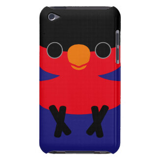 Black-capped Lory iPod Case-Mate Cases