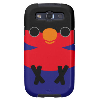Black-capped Lory Galaxy S3 Cover