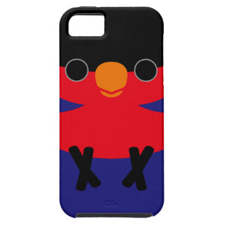 Black-capped Lory iPhone 5 Cases