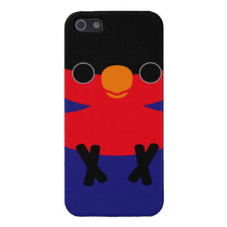 Black-capped Lory Covers For iPhone 5