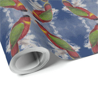 Black-capped Lory Wrapping Paper